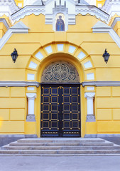 Back door of St Vladimir Cathedral