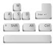 Main keyboard buttons. - 53604937