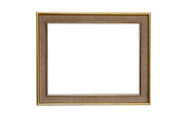 marco aislado en blanco