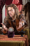 Gesturing Fortune Teller poster