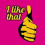 i like that