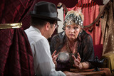 Serious Lady Fortune Teller poster