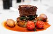 Tenderloin steak close-up