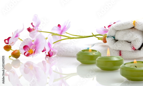 Wellness Orchidee Kerzen