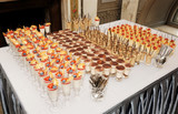 Table with great quantity of desserts