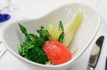Light summer vegetable appetizer