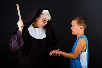 punishment nun style