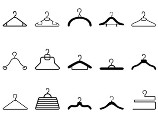 clothes hangers icon