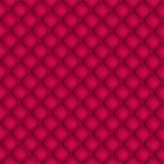 Red quilted background pattern