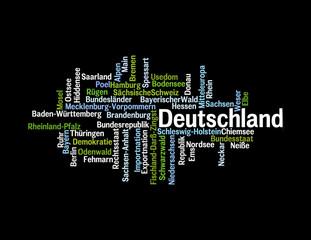 Wortwolke Deutschland