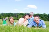Fototapety eltern mit kindern