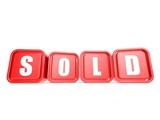 Sold word on the cube