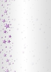 Wallpaper, background - violet stars on the left side