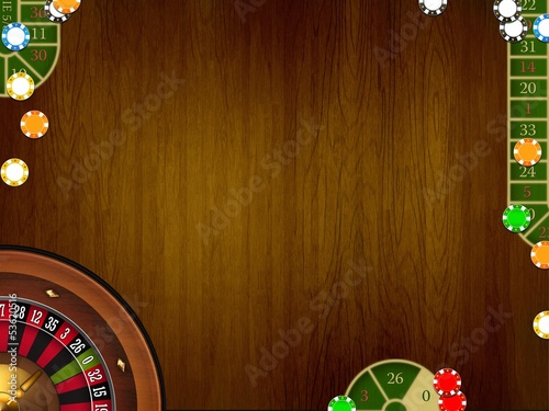 casino table background