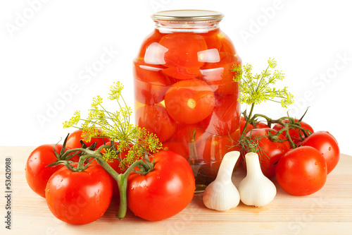 fresh and canned tomatoes