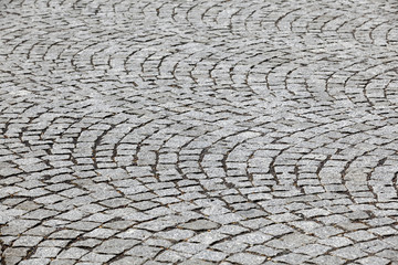 black   cobblestone road background