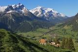 Beautiful scenery near Gstaad, Bernese Oberland