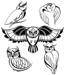 Decorative Owls