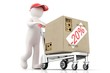 3d people - delivery