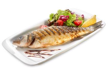 sea bass grill