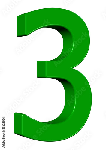 Yeşil renkli 3 tasarımı