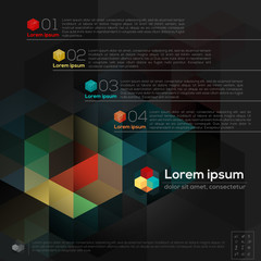 Geometric Abstract Design Layout