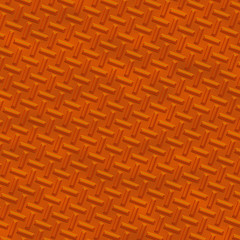 Orange Metal diamond plate
