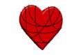 Zincirli kalp tasarımı