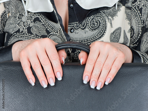 Female hands and nails
