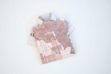 hemd mit geldschein
