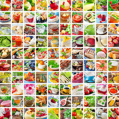 Kochen - Food - Collage