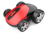 Computer mouse with wheels