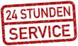 Service 24 Stunden Stempel  #130625-svg01