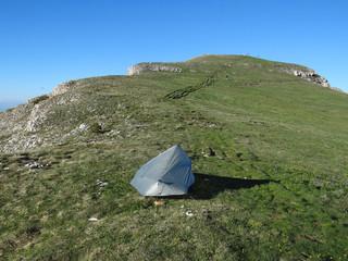Bivouac au sommet du Mont Aiguille (2086m)- Vercors