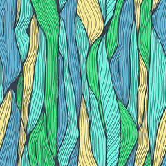 Seamless abstract hand drawnbackground with vertical lines