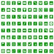 Icons for web - green