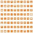 Icons for web - orange
