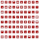 Icons for web - red