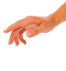 Woman Hand Reaching