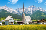 Mountain village in Austria, Maria Alm