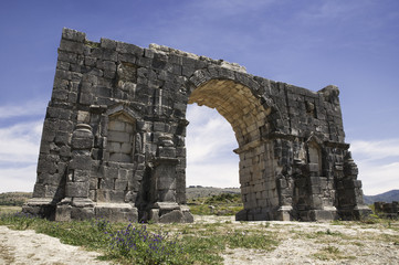 The Arch of Caracalla at Volubilis