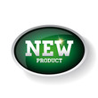 New product label green