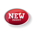 New product label red