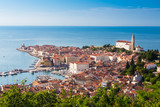 Picturesque old town Piran - Slovenia.