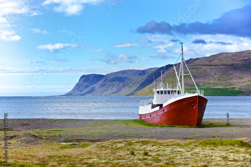 Old fishing vessel - 53637916
