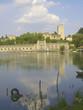 Hydroelectric plant and Adda River, Trezzo D'Adda - Italy