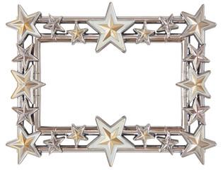 star silver frame
