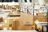Empty Interior Of Distribution Warehouse