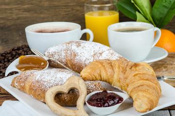 Guten Morgen: Leckerer Start in den Tag :)