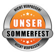 5 Star Button orange UNSER SOMMERFEST NV NV